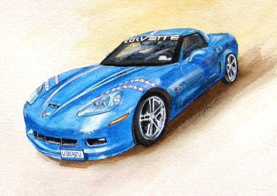 2008 Corvette 06Z