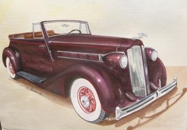 1936 Packard Victoria Convertible