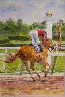 Winner, watercolor 12x16