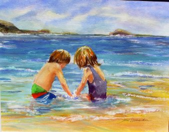 Hawaii Beach Kids