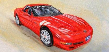 2001 Z06 Vette, 50th Anniversary Edition